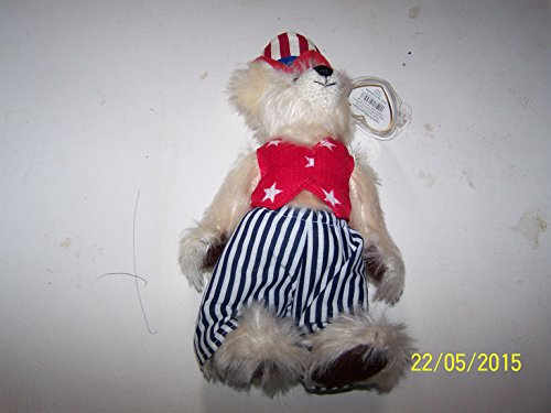 Ty Attic Treasures Uncle Sam Bear