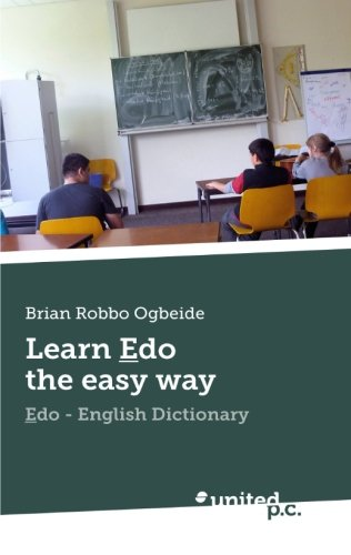 Learn Edo The Easy Way: Edo - English Dictionary