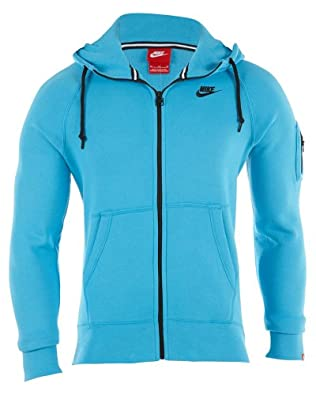 Nike Aw77 Fleece Fullzip Hoodie Mens by Nike