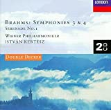 Brahms: Symphonies 3 & 4, Serenade No. 1