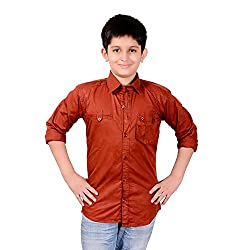 AEDI Little Cotton Casual shirts for Boys (16-17 Years)
