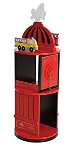 Levels of Discovery Firefighter Revolving Bookcase by Levels of Discovery
