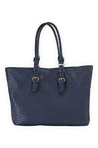 Shiraleah Vegan Leather Lola Weekender Tote