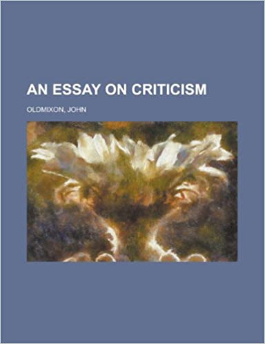 an essay on criticism by alexander pope summary