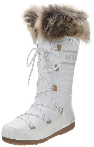 Moon Boot W.E. Monaco Scarpe sportive outdoor, Donna, Bianco, 39