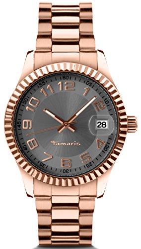 Tamaris - B07202030 - Montre Femme - Quartz - Analogique - Bracelet Acier Inoxydable Or et Rose
