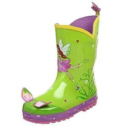 Kidorable Fairy Rain Boot (Toddler/Little Kid), Green, 9 M US Toddler