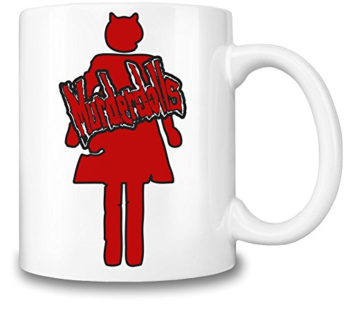Murderdolls Logo Tazza Coffee Mug Ceramic Coffee Tea Beverage Kitchen Mugs By Genuine Fan Merchandise
