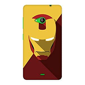 Delighted Real Genius Back Case Cover for Lumia 535