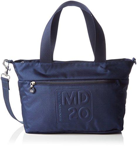 mandarina-duckmd20-borse-a-tracolla-donna-nero-dress-blue-08q-34x13x23-cm-b-x-h-x-t