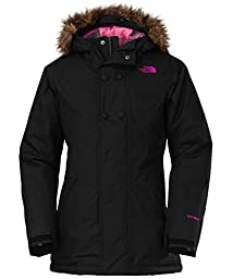 The North Face Little Girls\' Baylet Insulated Jacket - black, xs/6