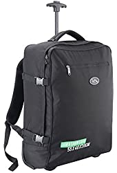 Cabin Max Madrid 55x40x20cm Multi-function Trolley and Backpack Carry On Ryanair Easyjet