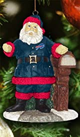 Welcome Home Santa Ornament-NFL - Buffalo Bills