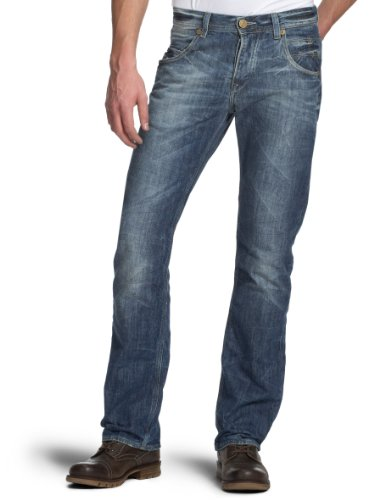 Cross Luigi Men's Long Trousers Blue  30/32