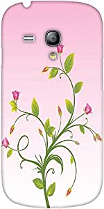 Snoogg Nice Background With Flower Bouquet Designer Protective Back Case Cove...