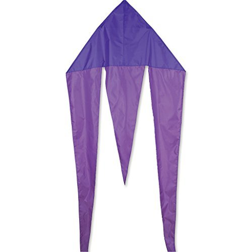 45 In. Flo-Tail Delta - Purple by Premier Kites