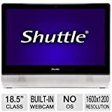 Shuttle 18.5-Inch LGA1155/Intel H61/DDR3/USB 3.0 All-In-One Touchscreen PC Barebone X70S (Black/Silver)