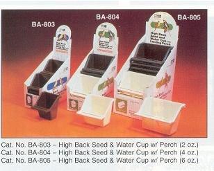 Cheap Penn-plax Internal Hi-back Cup With Perch 6oz (BA805)