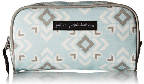 Petunia Pickle Bottom Powder Room Case in Sleepy San Sebastian, Blue (Petunia Pickle Bottom Makeup Bags compare prices)