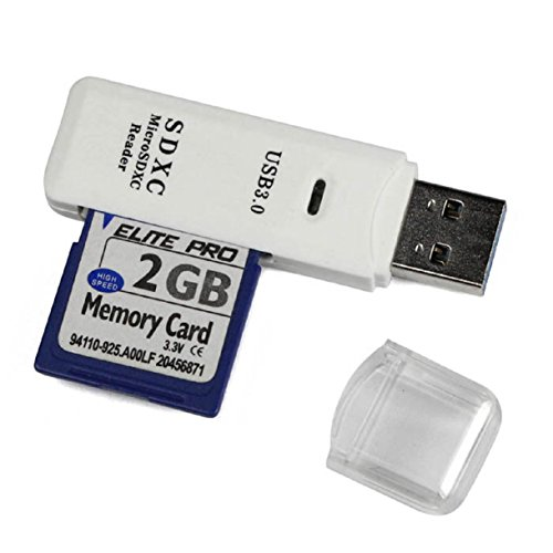 Lookatool New MINI Super Speed 5Gbps USB 3.0 Micro SDXC SD TF Card Reader Adapter White (Tp 2000 compare prices)