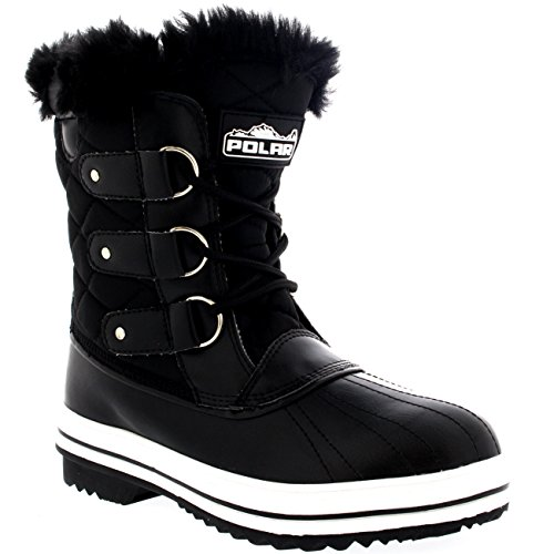 womens snow boot winter snow fur warm