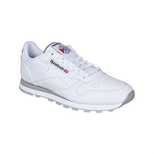 Reebok,  Bianco bianco/grigio 40