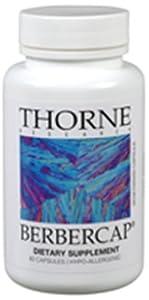 Thorne Research Berbercap (200 mg), 60 Vegetarian Capsules