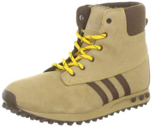 adidas Originals CASUAL BOOT K G62285, Unisex - Kinder Sneaker, Grau (CRAFT CANVAS F12 / STILL GOLD F12 / BROWN SPICE F11), EU 37 1/3 (UK 4.5)
