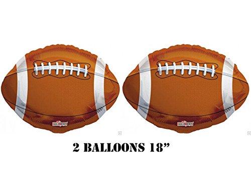 "Football Balloons 18"" (2 balloons)"