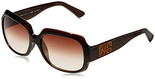 Fendi Fendi Rectangular Sunglasses (Brown) (FS 5010L|207|58) (Multicolor)