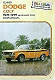 img - for Dodge Colt, 1971-1979, shop manual book / textbook / text book