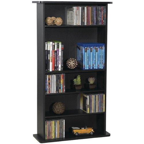 Image of AWM Atlantic 37935726 Drawbridge Cd & Dvd Multimedia Cabinet - Cd/Dvd Storage & Organization (B0087N4ZM6)