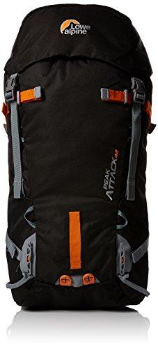 lowe-alpine-zaino-da-trekking-uomo-peak-attack-nero-black-pumpkin-66-x-30-x-24-cm-42-litri