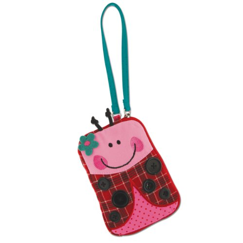 Stephen Joseph Little Girls'  Signature Wristlet, Ladybug, One Size - 1