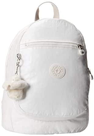 Kipling Luggage Challenger II Coated Backpack, Lacquer White, Medium