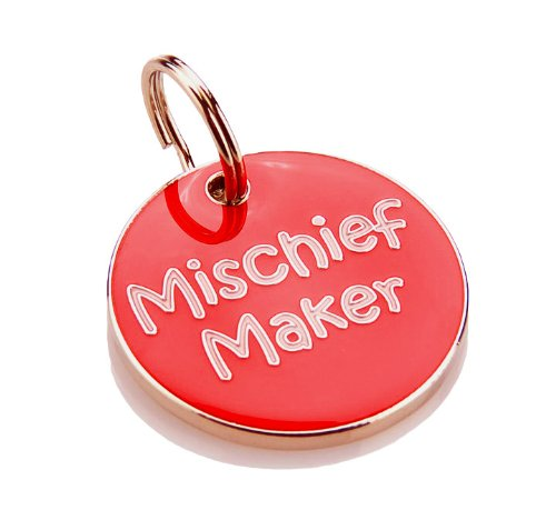 k9-mischief-maker-nickel-pet-identity-tag-with-enamel-design-in-gift-box-red