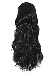 MapofBeauty Long Wave Curly Hair Wig Full Wig for Women Long by MapofBeauty