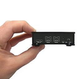 MiniPro 500GB External FireWire 800, USB 3.0 Portable Solid State Drive SSD