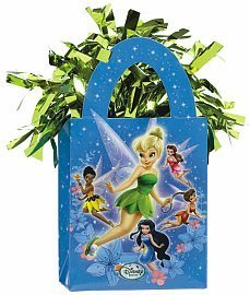 Disney Tinkerbell Mini Tote Balloon Weight - 5.5 In. x 3 In. Each [Toy] [Toy] - 1