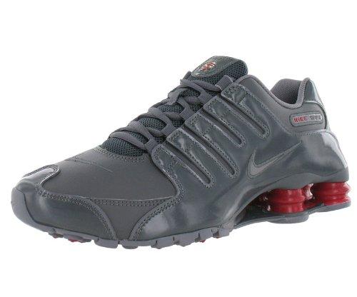 df5f43d9c83 Nike Men s Shox NZ Running Shoe Red Gray 8 5 - Dirk Hartmanndas