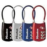 Master Lock 4688D TSA Approved Luggage Lock - 2 PACK