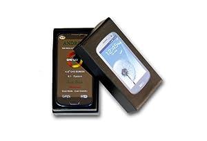 Teléfono dual sim 3G con Android 4.1 Jelly Bean; 4,8 pulgadas.