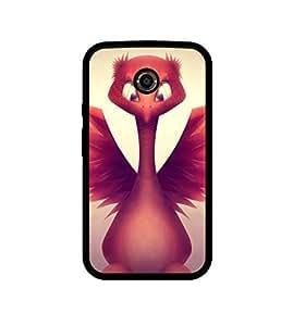 Ebby Back Cover for Motorola Moto X (2nd Gen)
