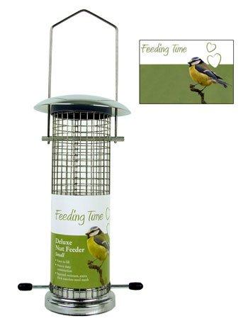Feeding-Time-Wild-Bird-Deluxe-Nut-Feeder-Bronze-Small