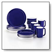 Rachael Ray Dinnerware Round & Square 16-Piece Dinnerware Set