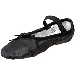 Bloch Dance Dansoft Ballet Slipper (Toddler/Little Kid),Black,13 B US Little Kid