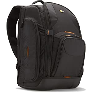 41B9sSvGPML. AA300 PIbundle 1,TopRight,0,0AA300 SH20  Caselogic SLRC 206 SLR Camera and 15.4 Inch Laptop Backpack   $65 + Free Shipping