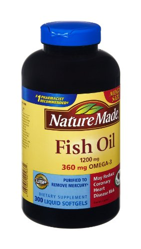 Fish Oil 1200 Mg 360 Mg Omega 3