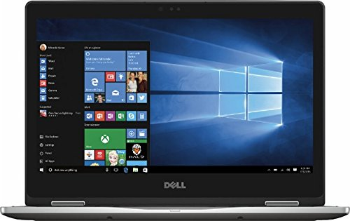 2016 Newest Dell Inspiron 7000 13.3'' FHD (1920 x 1080) Touchscreen 2-in-1 Convertible Laptop, Intel Core i5-6200U Processor, 8GB RAM, 256GB SSD, Backlit Keyboard, Bluetooth, HDMI, Windows 10, Gray