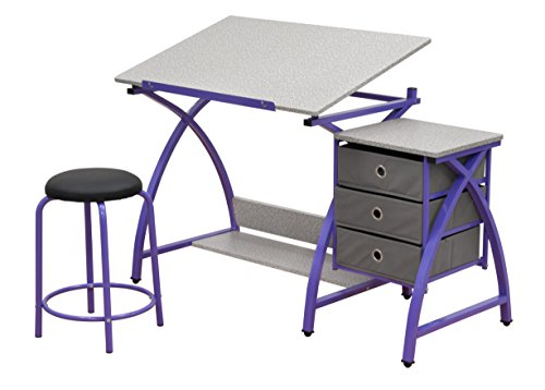 Comet Center with Stool in Purple / Spatter Gray (Purple Center compare prices)